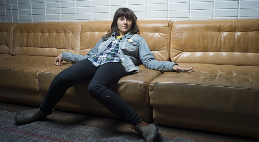 Courtney Barnett: 'In interviews I feel like a bit of a doofus.'